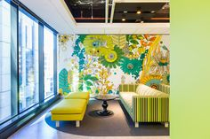 frost* design recently completed this illustrated environment for commonwealth bank's melbourne call centre.