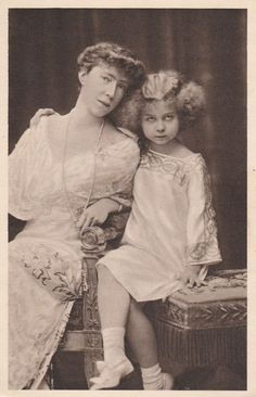 KÖNIGIN ELISABETH-MARIE JOSE-Adel-Royal-Monarchie-KÖNIGSHAUS-ORIGINAL POSTCARD