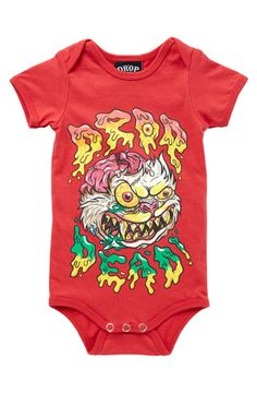 MadBall Baby Grow, Drop Dead Clothing
