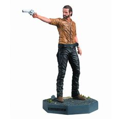 Rick Grimes knows that teamwork and planning are the keys to survival on The Walking Dead, but knowing how to use his trusty sidearm is a big help too! This int