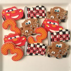 CARS cookies The Doughmestic Housewife