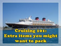 Over my last few cruises I have put together a standard list of a few must pack items that are helpful to have on board. Here is my list: Lanyard with a clear pouch for each person – Most cruise...Read more