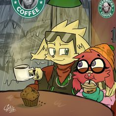 moji and Pip´s date on StarBuck. by: skeleton kid : Paladins Paladins Champions, Snuggles, Skeleton, Dating, Fan Art, Legends, Video Games, Kids, Fictional Characters