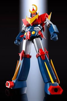 Bandai Soul of Chogokin: Invincible Super Man Zambot F.A. Transformers, Robot Cartoon, Japanese Robot, Retro Robot, Popular Series, Super Robot, Robot Design, Robot Art, Mega Man