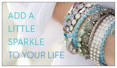 Add a little sparkle to your life! Touchstone Crystal by Swarovski #jewelry www.amieshines.com