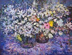 William Boissevain Still Life, Mixed Flowers 20th century