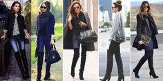 Botas Over The Knee ou Over Boots - Tendência de moda para o inverno 2015-com-calca