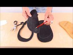 Huarache Sandalen selbermachen - Barfuss Sandalen Bausatz - YouTube