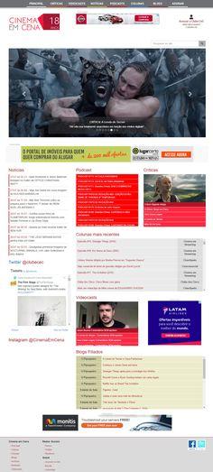 Desenvolvimento do portal Cinema em Cena