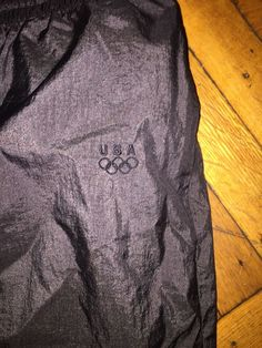 b3077d2df77ae9 Vintage USA Olympic JCPenny Size L Windbreaker Ankle Zip Warm Up Track Pants  #fashion #clothing #shoes #accessories #mensclothing #activewear (ebay link)