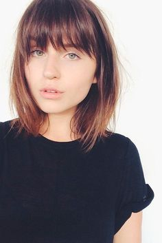 bangs for round face