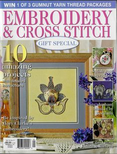 Elephant Blanket, Cross Stitch Magazines, Yarn Thread, Cross Stitch Embroidery, Projects, Pattern, Gifts, Ebay, Scrappy Quilts