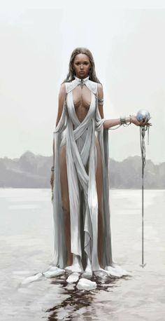 Snow Goddess : Khione