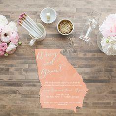 Stunning Wedding Invitations From Elli Weddings Wedding And