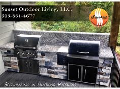 Our professionals measure, build, deliver & install! Residential & commerical outdoor kitchens and fire features
