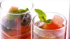 Giada De Laurentiis - Berry, Melon and Mint Iced Tea