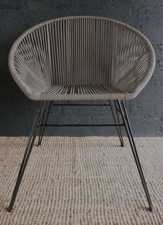 Our Rope Chair are great for around an outdoor dining table or just to have in the garden. They can also be used as an indoor chair in summer months.