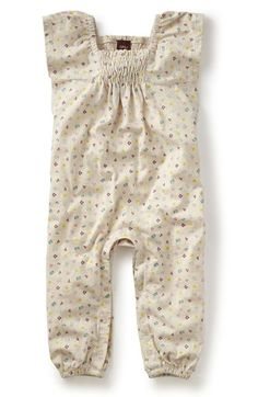 Tea Collection 'Gemma' Romper (Baby Girls) available at #Nordstrom