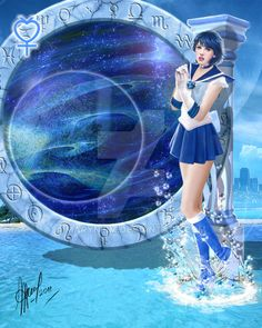 sailor Mercurio by Maryneim on DeviantArt