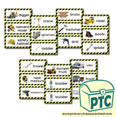 Construction Site Role Play Resources - Primary Treasure Chest Construction Area Ideas, Construction Crafts, Construction Business, Construction Design, Creative Curriculum Preschool, Free Preschool, Preschool Ideas, Teaching Ideas, Pre K Activities