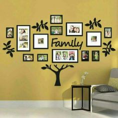 I'm pretty sure Bed Bath & Beyond carries this: Hallway Family Tree Collage Picture Photo Wall Art Large Wedding Frame Decor