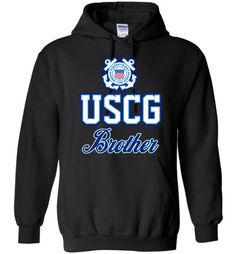 USCG Coast Guard Brother Hoodie