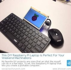 This DIY Raspberry Pi Laptop Is Perfect For Your Weekend Machinations
