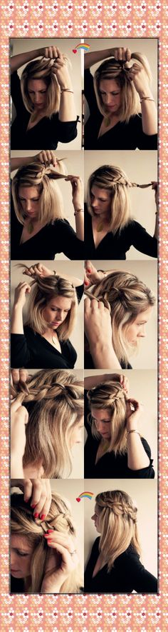 Hair training <3 •◡•