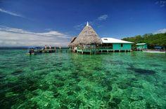Panama wanderfoul beach