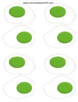 Green Eggs and Ham Printables   Dr. Seuss themed Sight Word Game (Free printable)