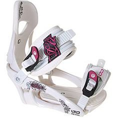 @Overstock - Stay safe and stylish on the slopes with these women''s snowboard bindings. Made of non-loosening hardware, these bindings feature adjustable toe ramps, a reinforced base plate, high backs, and an extended heel cup design for optimal performance.http://www.overstock.com/Sports-Toys/LTD-LT250-Womens-Snowboard-Bindings-Size-3-6/4363945/product.html?CID=214117 $83.99