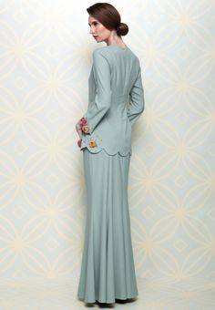 1000+ images about Baju Kurung on Pinterest | Baju kurung, Kebaya and ...