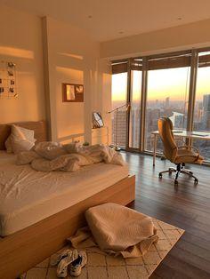 Room Design Bedroom, Room Ideas Bedroom, Bedroom Decor, Bedroom Inspo, Dream Apartment, Apartment Interior, Dream Rooms, Dream Bedroom, Dream Home Design