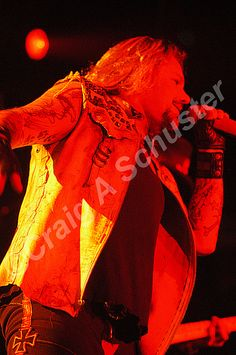 Photo of Vince Neil Official from Motley Crue COS Show in FT Wayne IN 2005 #vinceneil #motleycrue