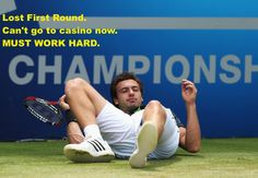 Back to work after a good weekend is not easy. #ernests #gulbis