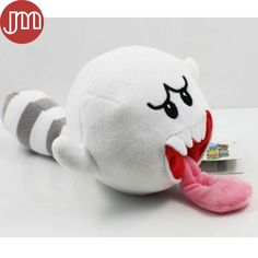 """Find More Movies & TV Information about New 1 PCS Super Mario Bro White Boo Mushroom Ghost with Tail Soft Plush Doll Stuffed Toy Gift Tongue Cart Approx 10cm/4"""",High Quality mushroom corn,China mushroom agaricus Suppliers, Cheap ghost hunting video camera from M&J Toys Global Trading Co.,Ltd on Aliexpress.com"""