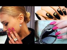 DIY Studded Stiletto Nails inspired by Kate Spade F/W 2013