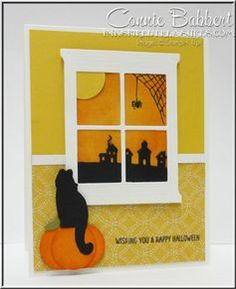 BeautyScraps: Spooky Halloween Card using Stampin' Up! Among the ...