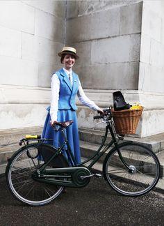 London Tweed Run 2013 Winner: Most Dashing Dame