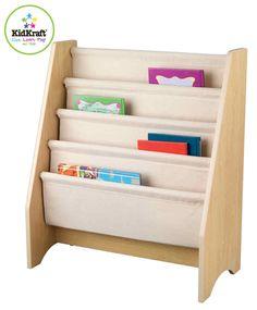 Idée sympa de bibliothèque pour livre enfant : à faire avec panneaux en carton ou bois?