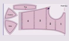 DIY: Step-by-step guide to cutting and sewing a bustier blouse Corset Sewing Pattern, Plus Size Sewing Patterns, Bodice Pattern, Bra Pattern, Dress Sewing Patterns, Clothing Patterns, Diy Clothing, Sewing Clothes, Sewing Bras