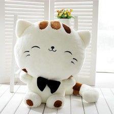 可爱大脸猫毛绒玩具猫咪公仔抱枕布娃娃七夕情人节生日礼物