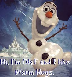 """""""Winter's a good time to stay in and cuddle, but put me in summer and I'll be a . . . . . . . . . . . HAPPY SNOWMAN!!"""""""