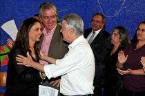 Governador prestigia missa de aniversário de Liliane Roriz - http://noticiasembrasilia.com.br/noticias-distrito-federal-cidade-brasilia/2015/04/16/governador-prestigia-missa-de-aniversario-de-liliane-roriz/