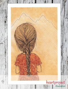 Cordillera es un Poster Imprimible : es un archivo por heartproject