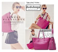 """dudubags5/5"" by elmaimsirovic ❤ liked on Polyvore"