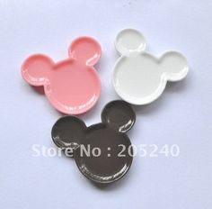 RESINS  Minnie and Mickey Mouse Mixed  Pack of 3 by Chemcama, $1.95
