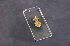 iPhone 6 Pineapple Case iPhone 7 Plus Pineapple Phone Cover iPhone 6 Plus Gold Unique Phone Case iPhone 7 Case Clear Pineapple iPhone 7 Plus