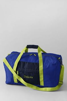 Large Packable Duffel Bag from Lands  End Camping Supplies 8e84916772f