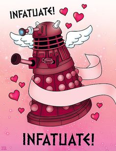 Card for Doctor Who fans